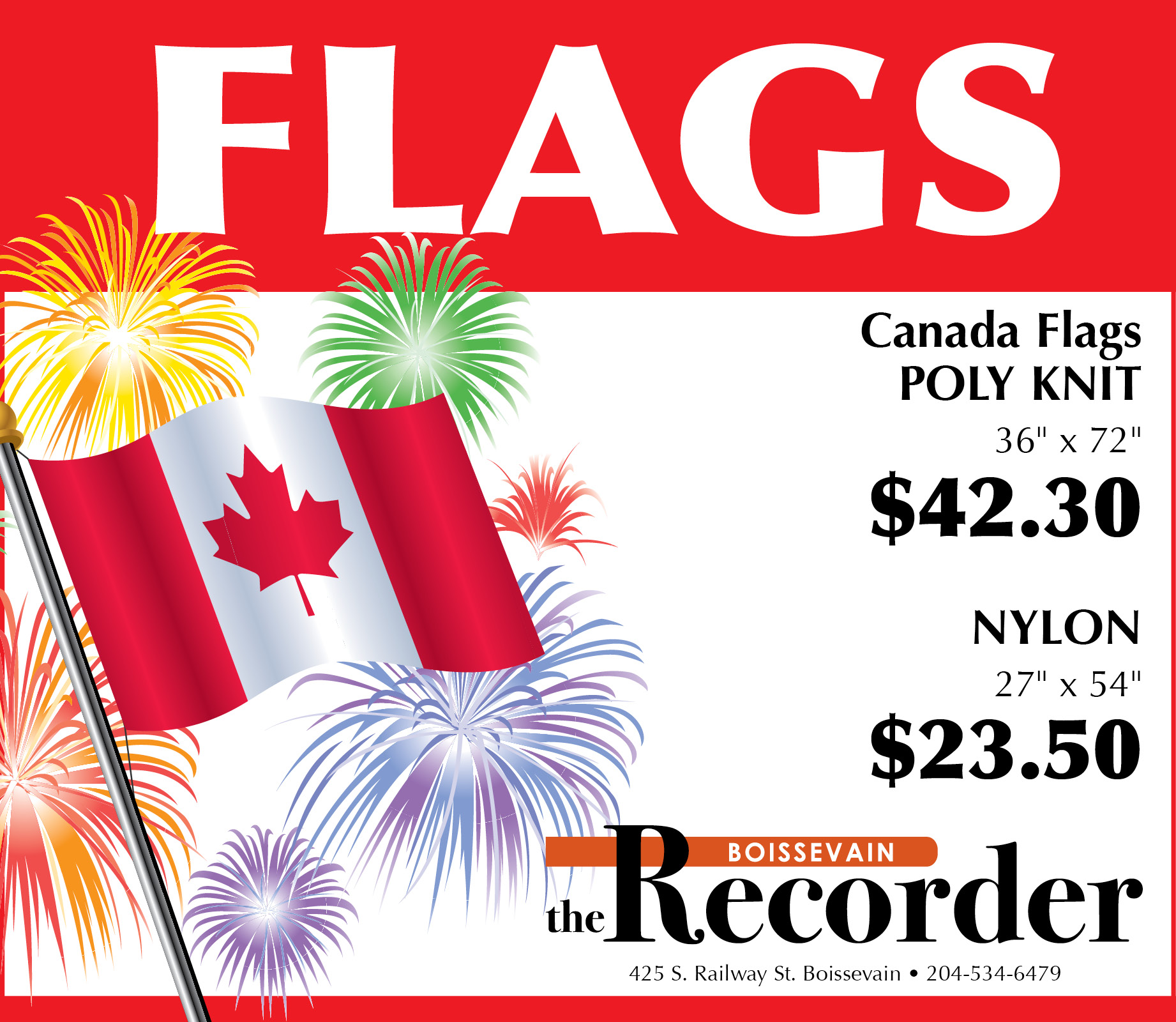 Recorder Flags