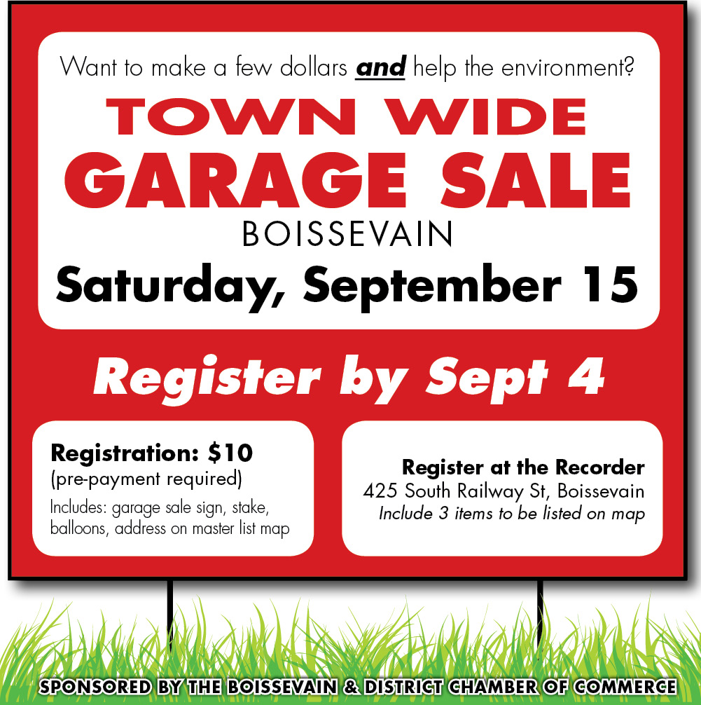 Garage Sale Fall 2018