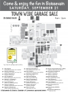 Town Wide Garage Sale Map